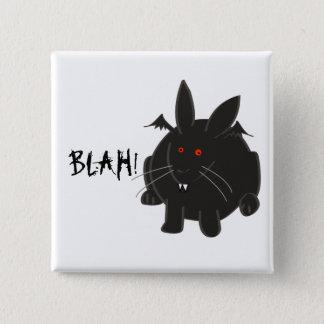 Vampire Bunneh 2 Inch Square Button