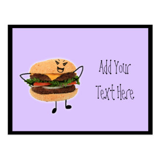 Vampire Burger Postcard