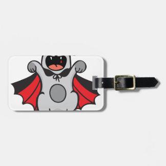 Vampire Cat Bag Tag
