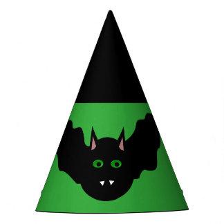 Vampire Cat Faced Bat Halloween Party Hat