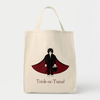 Vampire Cat Trick-or-Treat Bag