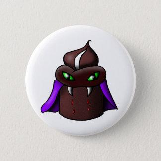 Vampire Cupcake Button