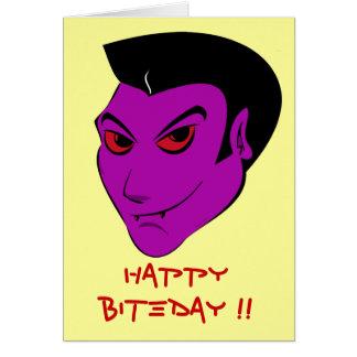 Vampire Darkling - celebration card