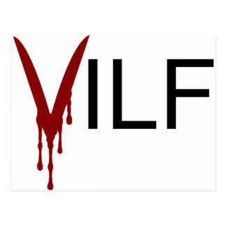 Vampire de VILF Carte Postale