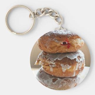 Vampire Donut Stack Keychain