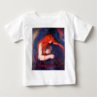 Vampire Edvard Munch Baby T-Shirt
