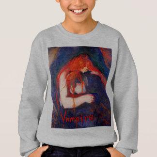 Vampire Edvard Munch Sweatshirt