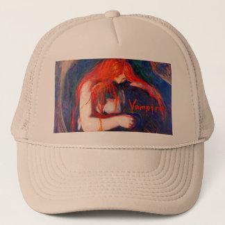 Vampire Edvard Munch Trucker Hat