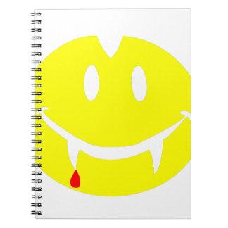 vampire emoji dracula notebook