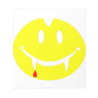 vampire emoji dracula notepad