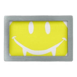 vampire emoji dracula rectangular belt buckle