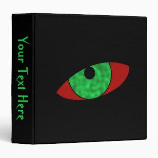 Vampire Eyes Personalize Vinyl Binder