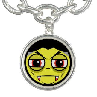 Vampire Face Charm Bracelet