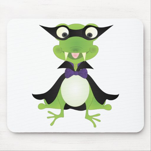 Vampire Frog Mouse Pad