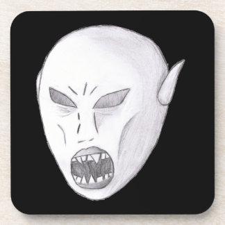 Vampire Ghoul Sketch Coasters