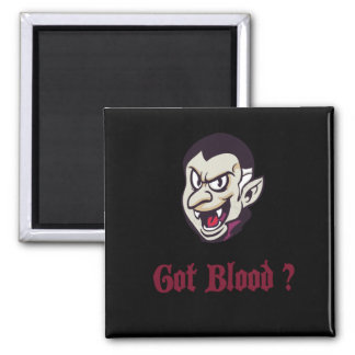 Vampire Halloween Got Blood Fridge Magnet