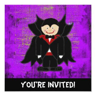 Vampire Halloween Invitation