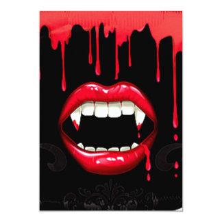 Vampire Halloween Invitations