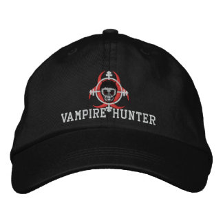 Vampire Hunter Hat Embroidered Hat