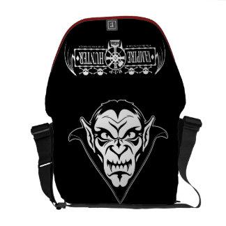 Vampire Hunters Dracula Face Messenger Bag