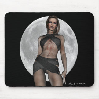 Vampire Huntress Mouse Pad