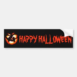 Vampire Jack-O-Lantern Bumper Sticker