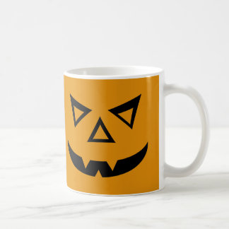 Vampire Jack-o-Lantern Face Coffee Mugs