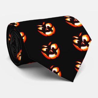 Vampire Jack-O-Lantern Tie