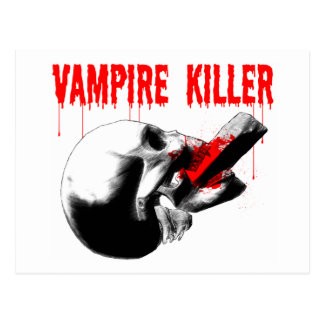 Vampire Killer Postcard