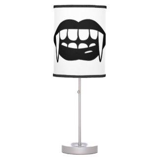 Vampire Lips & Fangs Lamp