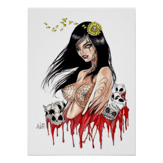 Vampire Lust Poster