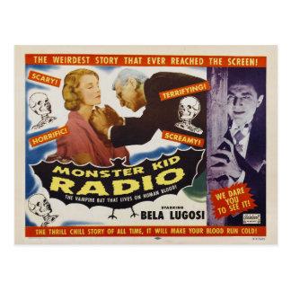 Vampire Monsters from Monster Kid Radio Postcard