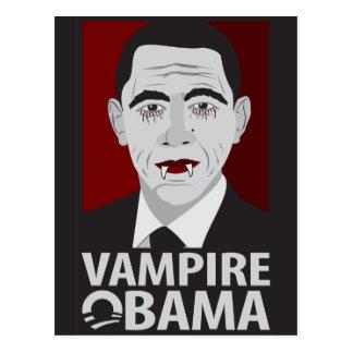 Vampire Obama Postcard