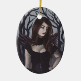 Vampire Ornament Gothic Art Ornament