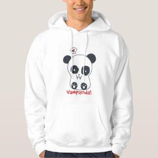 Vampire panda hoodie