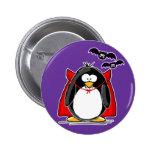 Vampire Penguin 2 Inch Round Button