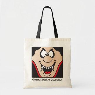 Vampire Personalize Trick or Treat Bag