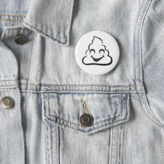 Vampire Poop Emoji Halloween 2 Inch Round Button