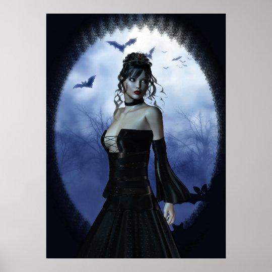 Vampire princess poster