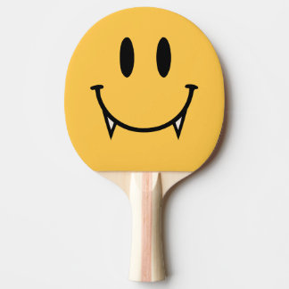 Vampire Smiley Table Tennis Paddle Ping-Pong Paddle