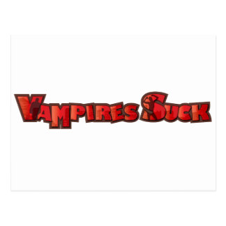 Vampire Suck Postcard