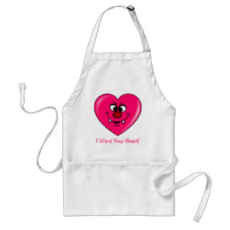 Vampire Valentine: Give your heart to me Standard Apron