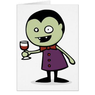 Vampire Vino Card