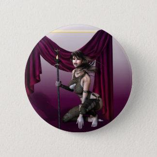 Vampire Warrior 2 Inch Round Button