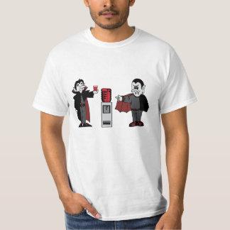 vampires drinking blood tee shirts