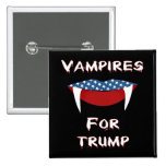 Vampires For Trump Fun Halloween Button