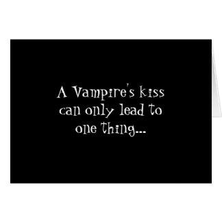 Vampire's Kiss Card