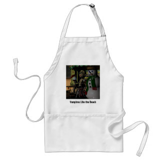 Vampires Like the Beach, Too! Standard Apron