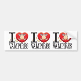Vampires Love Man Bumper Sticker