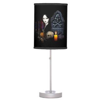 Vampires night table lamp